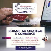 """event Rencontre sur la thématique """"Réussir sa stratégie e-commerce"""""""